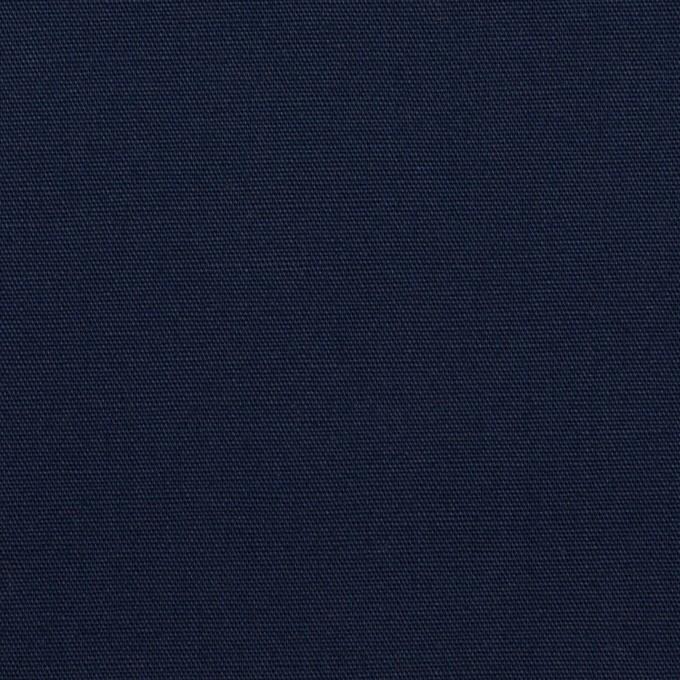 コットン×無地(ネイビー)×ポプリン イメージ1