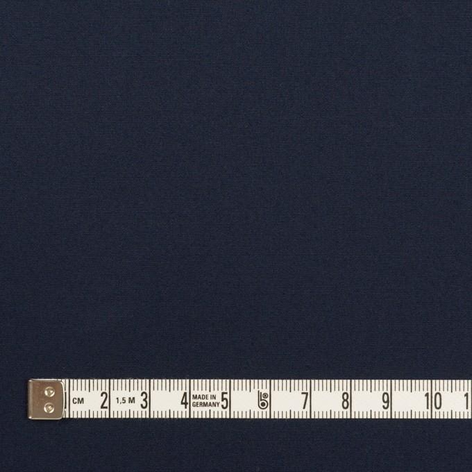 コットン×無地(ネイビー)×ポプリン イメージ4