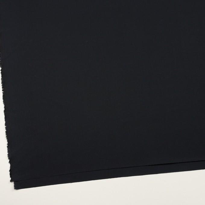 コットン×無地(ブルーブラック)×ブロード イメージ2