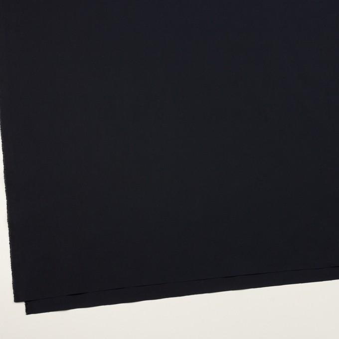コットン&ポリウレタン×無地(ダークネイビー)×ローンストレッチ イメージ2