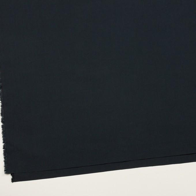 コットン×無地(チャコールブラック)×タイプライター(高密ローン) イメージ2