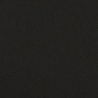 コットン&ポリウレタン×無地(ブラック)×ローンストレッチ