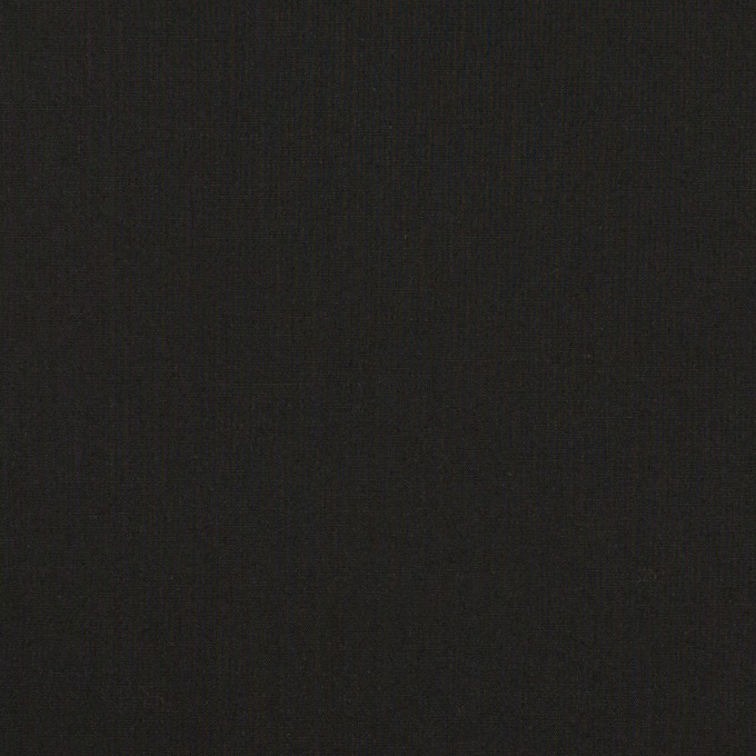 コットン&ポリウレタン×無地(ブラック)×ローンストレッチ イメージ1