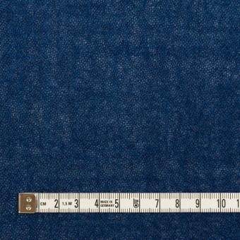ウール×無地(プルシアンブルー)×ガーゼ サムネイル4