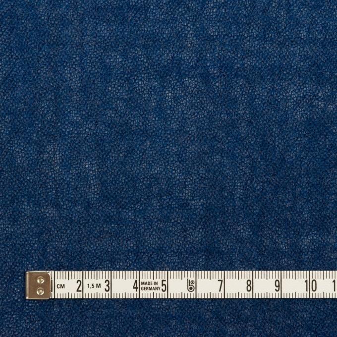 ウール×無地(プルシアンブルー)×ガーゼ イメージ4