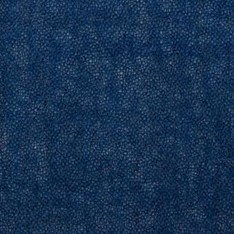 ウール×無地(プルシアンブルー)×ガーゼ サムネイル1