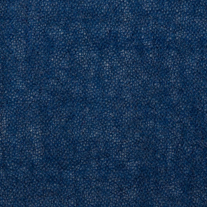 ウール×無地(プルシアンブルー)×ガーゼ イメージ1