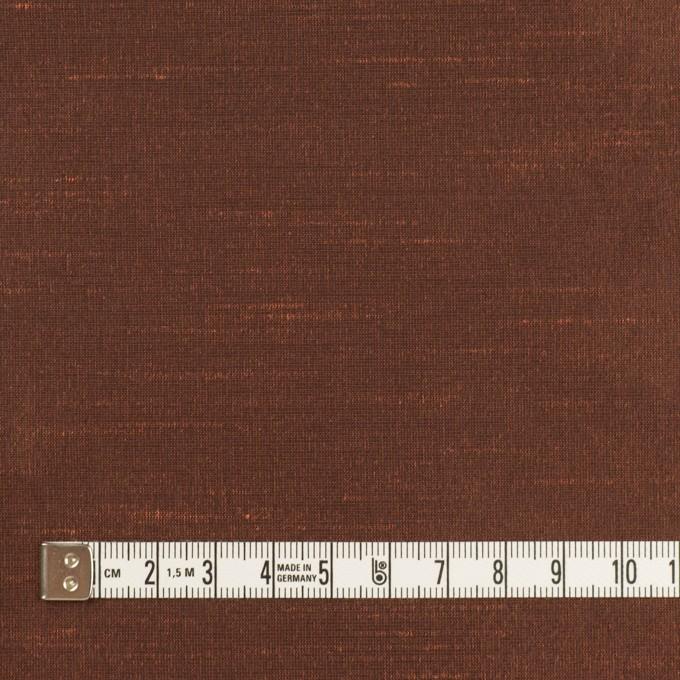 ポリエステル×無地(アプリコット)×形状記憶シャンブレー・シャンタン_全4色 イメージ4