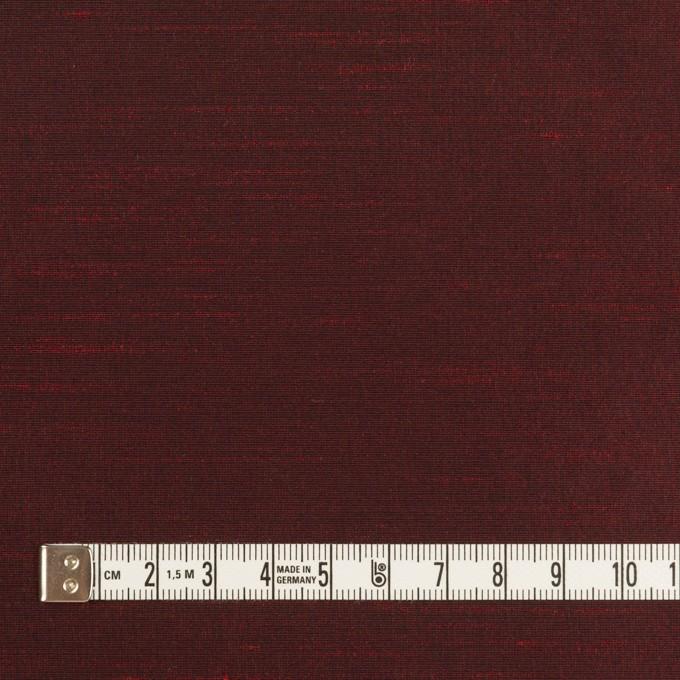 ポリエステル×無地(バーガンディー)×形状記憶シャンブレー・シャンタン_全4色 イメージ4