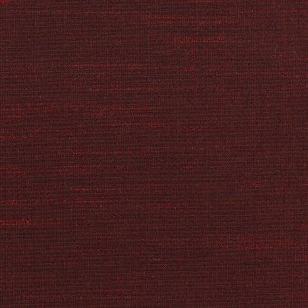 ポリエステル×無地(バーガンディー)×形状記憶シャンブレー・シャンタン_全4色