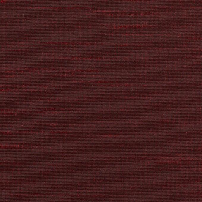 ポリエステル×無地(バーガンディー)×形状記憶シャンブレー・シャンタン_全4色 イメージ1