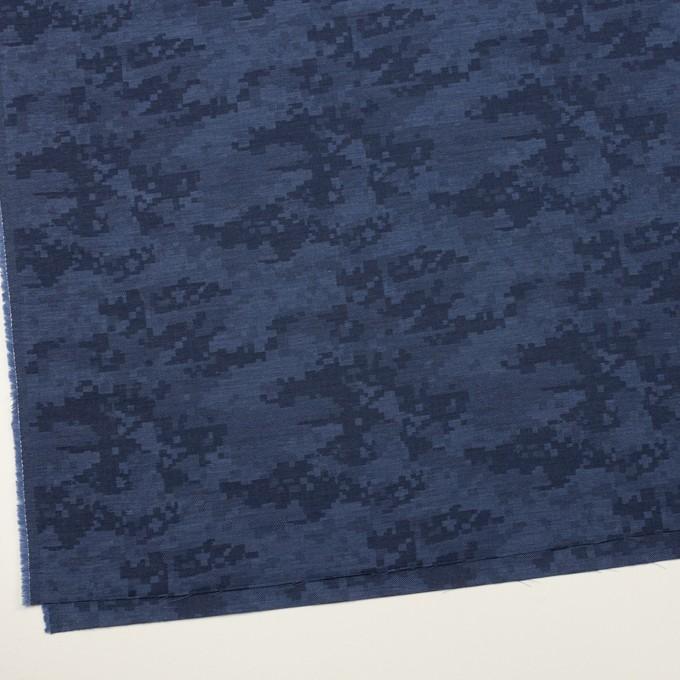 コットン×モザイク(アッシュブルー)×ビエラジャガード_全2色 イメージ2