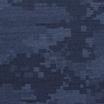 コットン×モザイク(アッシュブルー)×ビエラジャガード_全2色