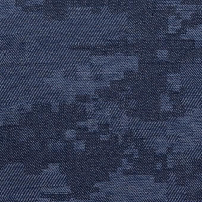 コットン×モザイク(アッシュブルー)×ビエラジャガード_全2色 イメージ1