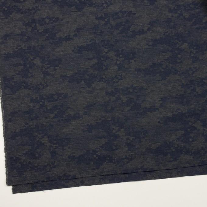 コットン×モザイク(チャコールグレー)×ビエラジャガード_全2色 イメージ2