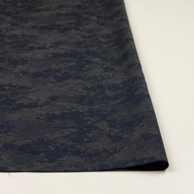 コットン×モザイク(チャコールグレー)×ビエラジャガード_全2色 イメージ3
