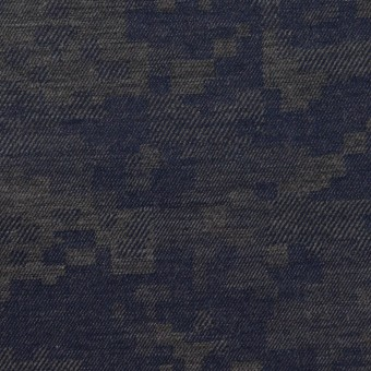 コットン×モザイク(チャコールグレー)×ビエラジャガード_全2色