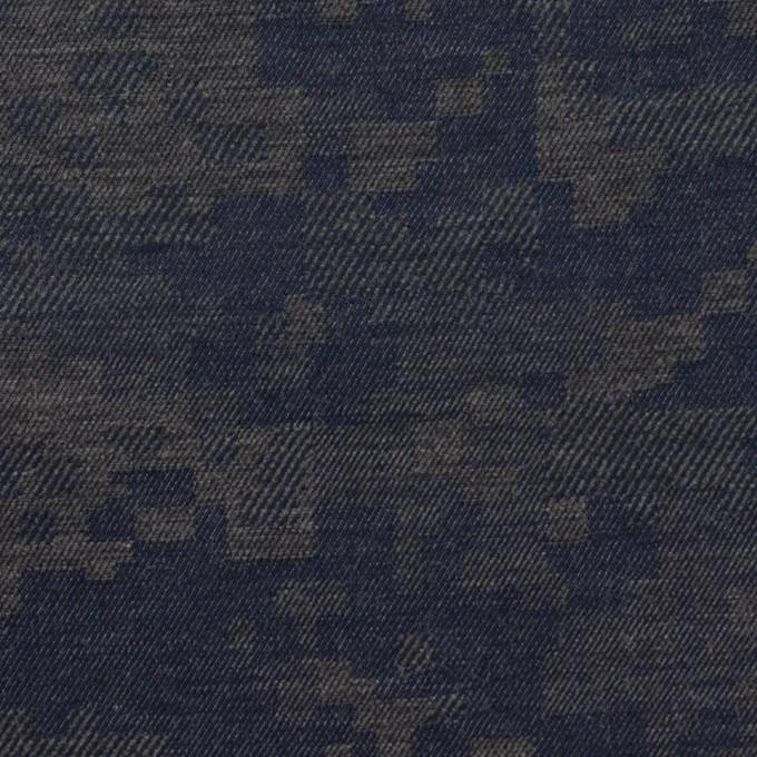コットン×モザイク(チャコールグレー)×ビエラジャガード_全2色 イメージ1