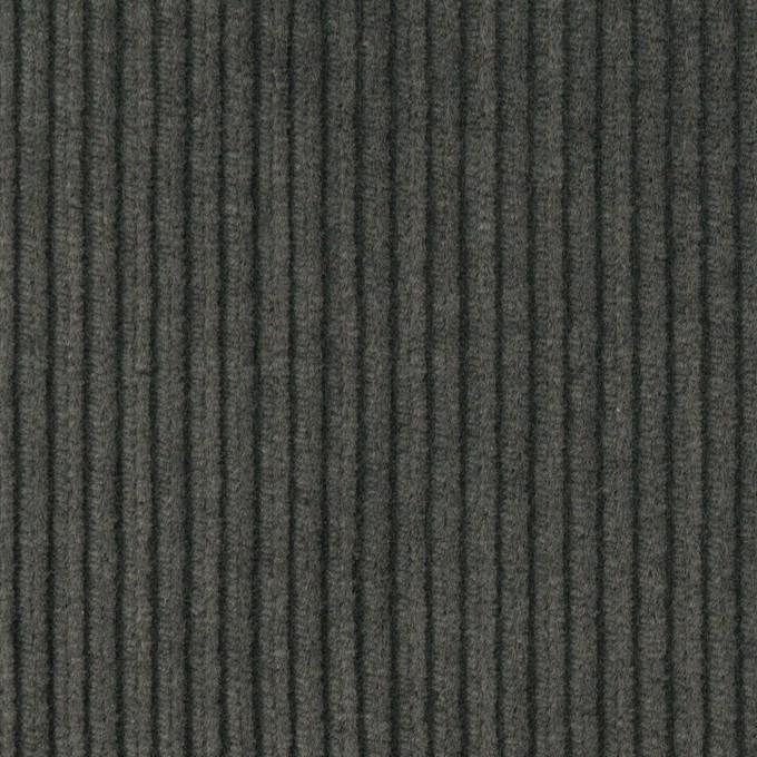 コットン×無地(スチールグレー)×中太コーデュロイ イメージ1