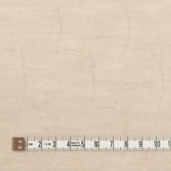 ウール&ナイロン×オーバル(ライトベージュ)×ジャガードニット サムネイル4