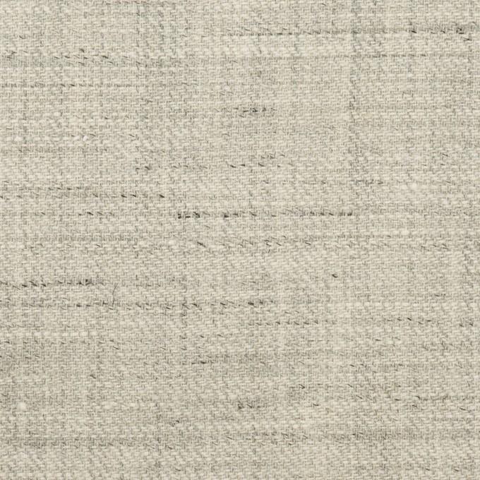 リネン&ウール×ミックス(ライトグレー)×サージ イメージ1