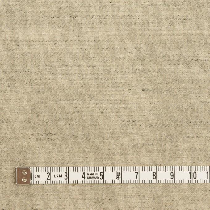 ウール&リネン×ミックス(オートミール)×ツイード イメージ4