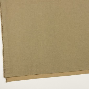 ウール&カシミア混×無地(ブラス)×二重織_イタリア製 サムネイル2