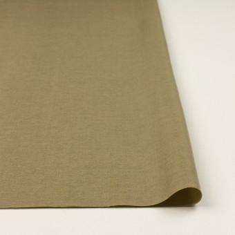 ウール&カシミア混×無地(ブラス)×二重織_イタリア製 サムネイル3