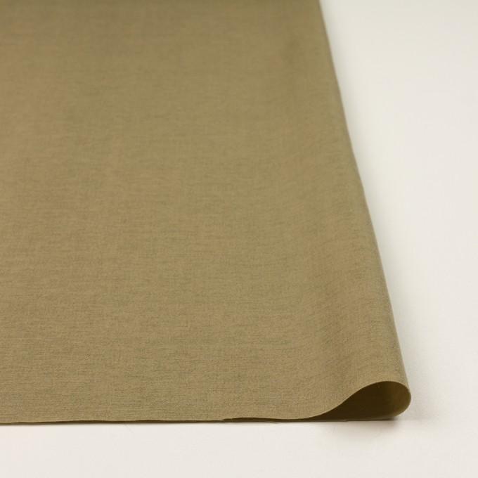 ウール&カシミア混×無地(ブラス)×二重織_イタリア製 イメージ3