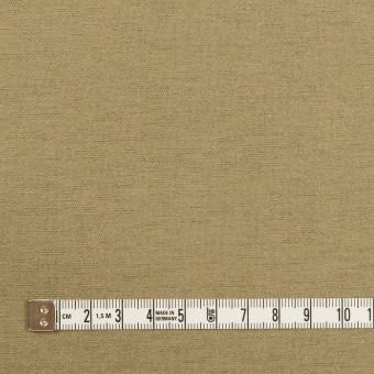 ウール&カシミア混×無地(ブラス)×二重織_イタリア製 サムネイル4