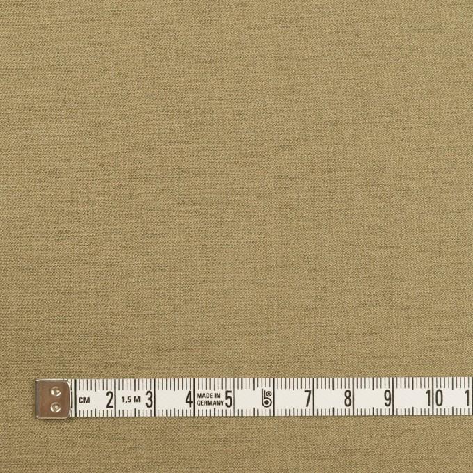 ウール&カシミア混×無地(ブラス)×二重織_イタリア製 イメージ4