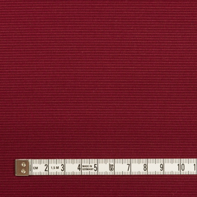 コットン&シルク×無地(バーガンディー)×グログラン イメージ4
