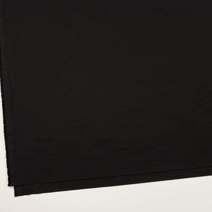 コットン&ナイロン×無地(ブラック)×タッサーポプリン_全2色 イメージ2