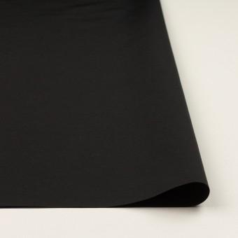 コットン&ナイロン×無地(ブラック)×タッサーポプリン_全2色 サムネイル3