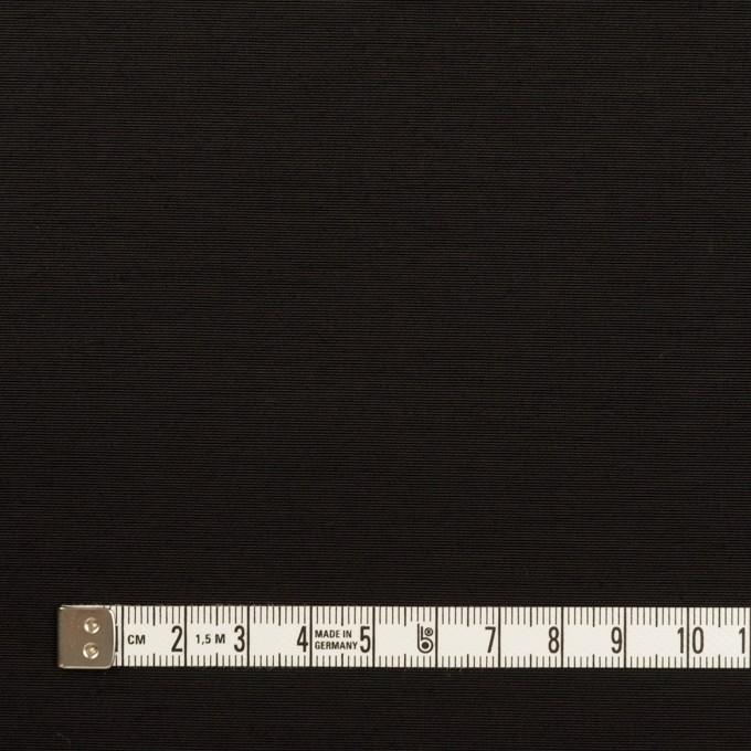 コットン&ナイロン×無地(ブラック)×タッサーポプリン_全2色 イメージ4