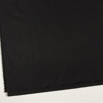シルク&ポリエステル×無地(ブラック)×形状記憶タフタ サムネイル2