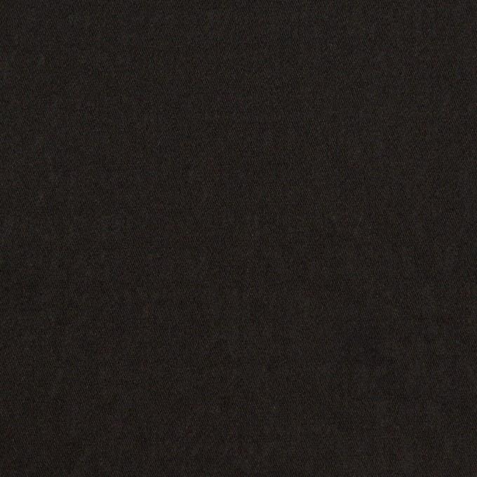 シルク&ポリエステル×無地(ブラック)×形状記憶タフタ イメージ1