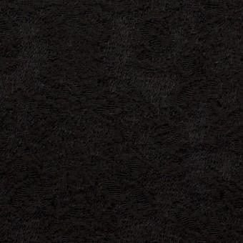 ウール×幾何学模様(ブラック)×ジャガード
