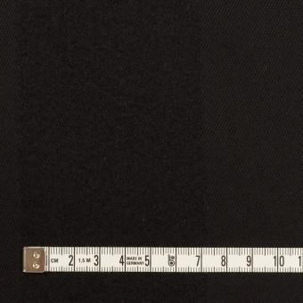ウール&シルク×ストライプ(ブラック)×サージ サムネイル4