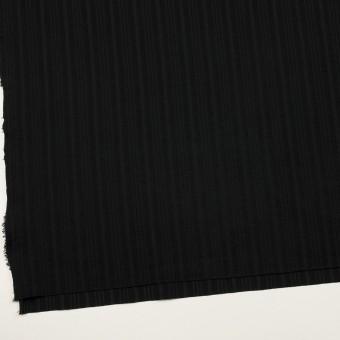 コットン×ストライプ(ブラック)×ボイルジャガード サムネイル2