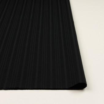 コットン×ストライプ(ブラック)×ボイルジャガード サムネイル3
