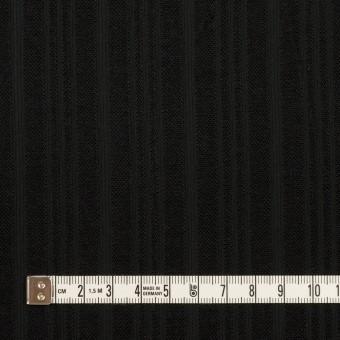 コットン×ストライプ(ブラック)×ボイルジャガード サムネイル4