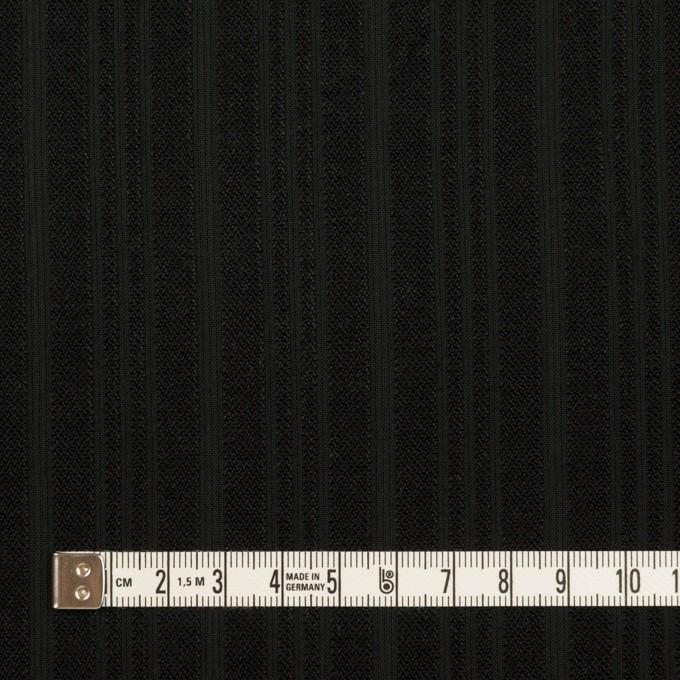 コットン×ストライプ(ブラック)×ボイルジャガード イメージ4