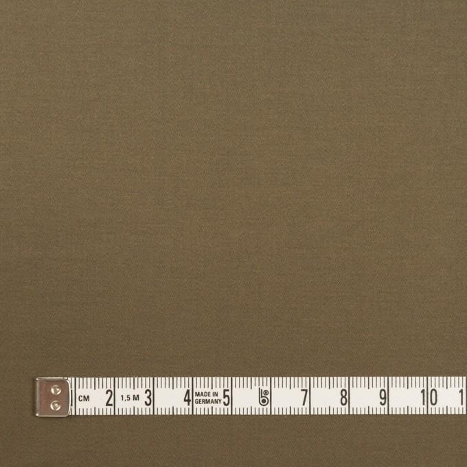コットン&ポリウレタン×無地(コヨーテブラウン)×サテンストレッチ イメージ4