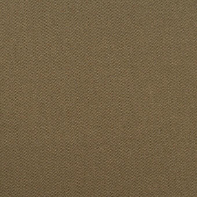 コットン&ポリウレタン×無地(コヨーテブラウン)×サテンストレッチ イメージ1