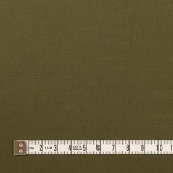 コットン×無地(ダークカーキグリーン)×サテン サムネイル4