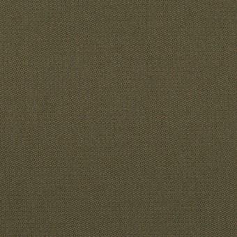 コットン&ポリウレタン×無地(ダークカーキグリーン)×二重織