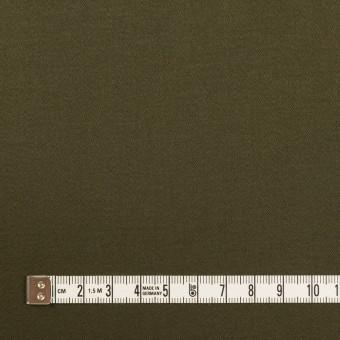 コットン×無地(ダークカーキグリーン)×サテンストレッチ サムネイル4