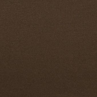 コットン&モダール×無地(ビターチョコレート)×スムースニット