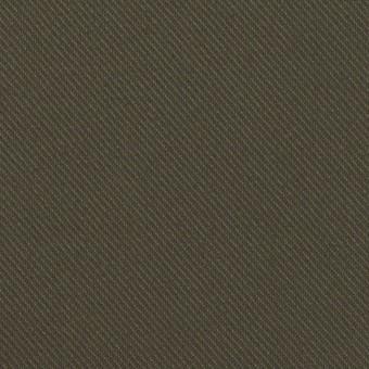 コットン×無地(ダークカーキ)×サージ_全3色
